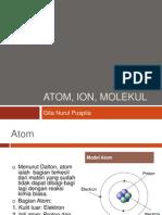 Atom, Ion, Molekul