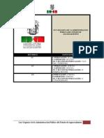 Ley Organica de La Admin is Trac Ion Publica Del Estado de Aguascalientes