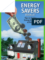 Energy Savers - Tips on Saving Energy and Money at Home Malestrom