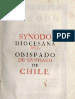 Sinodo de Manuel de Alday y Aspee 1764