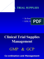 Clinical Trial Supplies