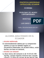 Investigacion Alcohol Adult Era Do en Ecuador