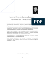 Blau - Lecture Notes on General Relativity