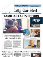 The Daily Tar Heel for November 9, 2011