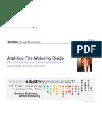 analytics  the widening divide mit ibm report