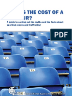 What's the Cost of a Rumour? A Guide to Sorting Out the Myths and the Facts About Sporting Events and Trafficking