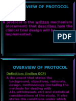 Overview of Protocol