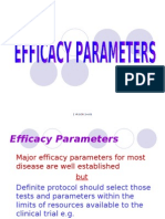 Protocol Efficacy Parameters 2.4