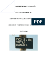 TALLER DE LECTURA Y REDACCIÓN