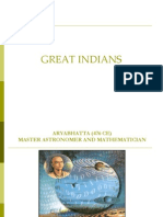 Great Ancient Indians