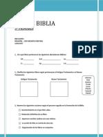 LIBROS BIBLIA