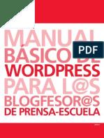 Guía blogs Prensa-Escuela Wordpress