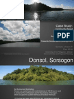 Case Study on Community-Based Eco Tourism Activities in Donsol, Sorsogon Seeing Eco Tourism as a Conservation Tool Towards Sustainable Development Presentation