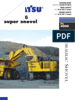 Komatsu Demag PC4000-6 Shovel -ACF4666