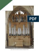 Caractéristiques orgues Cavaillé-coll