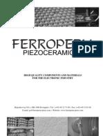 Ferroperm Catalogue