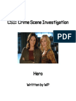 CSI fan fiction