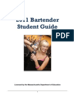 Bar Tending Manual 2011