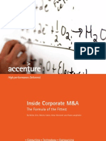 Accenture Inside Corporate MandA