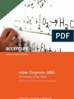 Accenture Inside Corporate MandA