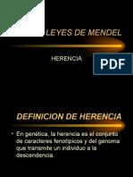 Leyes de Mendel 3er Parcial