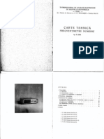 Frecventmetru e 0204 Cartea Tehnica