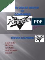 The Kirloskar Group Ppt
