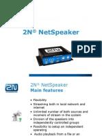 2n Net Speaker Presentation