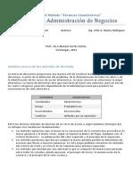 ejercicios de T Decisión (solucion)