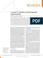 Vitamin D, Disease and Therapeutic Opportunities