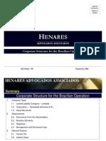 Brazilian Company Types Presentation 19 09 2011