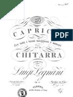 Caprichos Legnani