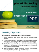 Principles of Marketing _Chapter 1