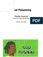 Food Poisoning LectV2 for Med Students