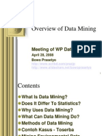 Overview of Data Mining