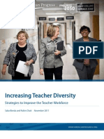Increasing Teacher Diversity