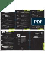 ZT  Knives Catalog 2011