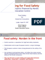 5 Hilde Hprocessing for Food Safety an Overview Hilde h 290807