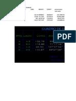 Cuadro de Datos Tecnicos