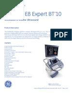 Voluson E8 Expert Datasheet