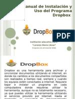 Manual de Instalación y Uso del Programa Dropbox