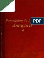 Description de L'Egypte - Antiquités - 4