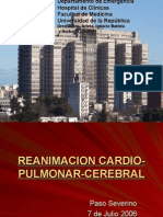 Reanimación Cardio Pulmonar Cerebral