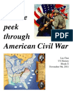 US.G.linchoi.peek Through American CIvil War