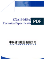 ZXA10 MSAN Technical Specification