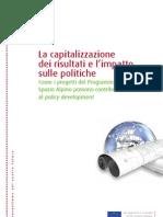 Guida Capitalizzazione Progetti Spazio Alpino