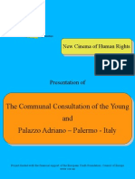 Presentation of Communal Consultation of the Young and Palazzo Adriano