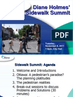 Sidewalk Summit Presentation