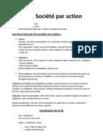SA et Société par action