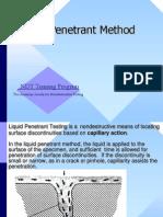 Liquid Penetrant Presentation